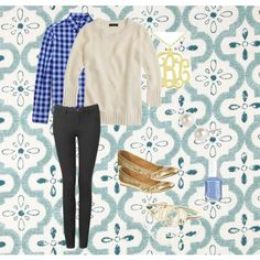 """""""Monogram casual"""" by livelaughlove1234567 on Polyvore"""