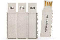 Pflück-USB-Sticks vom russischen Design-Studio Art Lebedev.