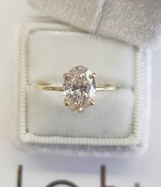 Engagement & Wedding Fine Rings Honest 1 Carat D Si1 Natural Clarity Diamond Solitaire Engagement Ring 18k White Gold