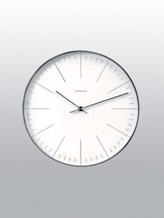 Junghans Wall Clock, by Max Bill