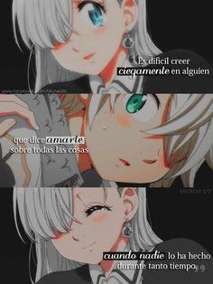 Otaku Anime, Sad Anime, Anime Love, Kawaii Anime, Seven Deadly Sins Anime, 7 Deadly Sins, Meliodas And Elizabeth, Elizabeth Liones, Anime Amor