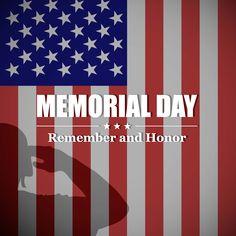 Memorial Day Holiday Closing