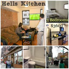 Living in Hells Kitchen for $1200!