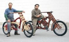 Wood Bicycle Art http://www.woodesigner.net has great advice and tips to woodworking