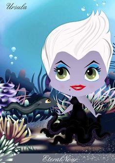 Poupée Ursula ;) La petit sirène