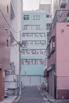 "janvranovsky: "" Pink & Green, somewhere around Akihabara, Tokyo | © Jan Vranovsky, 2014 """