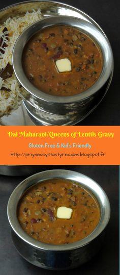 Dal Maharani/Queens of Lentils Gravy/Maharani Dal Healthy Indian Recipes, Ethnic Recipes, Asian Recipes, Punjabi Food, Punjabi Recipes, Bengali Food, Vegetarian Cooking, Vegetarian Recipes, Deep Fried Recipes