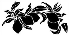 Lemon Border stencil from The Stencil Library GENERAL range. Buy stencils online. Stencil code 317.