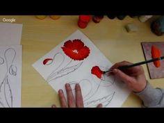 Онлайн школа росписи художника Зинаиды Голубевой приглашаем вас на курс обучения технике жостовской росписи. Курс состоит из 10 уроков по полтора часа - 15 ч...