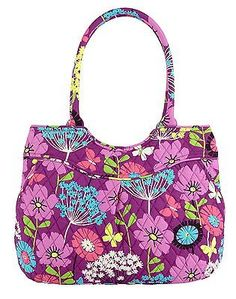 85f279466082 Vera Bradley Pleated Shoulder Bag Satchel