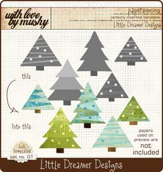Free Patterns | Paper piecing, Paper piecing patterns and Gnomes : pine tree quilt block - Adamdwight.com