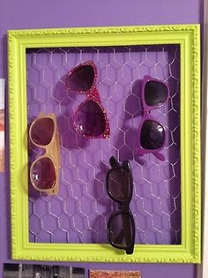 sunglass holder for the girl with too many sunglasses