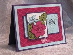 by Sage Kimble, Stamping Madly
