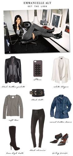 get the look: Emmanuelle Alt (obsessed!)