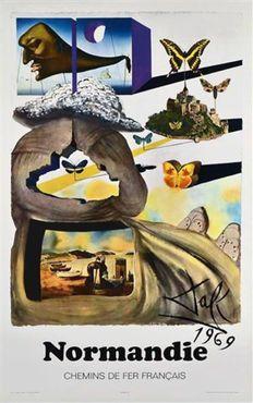 Salvador Dali - 'Normandie' - 1970