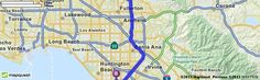 Driving Directions from 905 E Elm St, Brea, California 92821 to 2276 Federal Ave, Costa Mesa, California 92627 | MapQuest