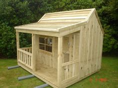 Buildeazy wendyhouse project made by Grant and Julie
