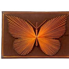 Image result for string art patterns butterfly