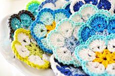 crochet daisies Pretty Crochet Inspiration and Patterns