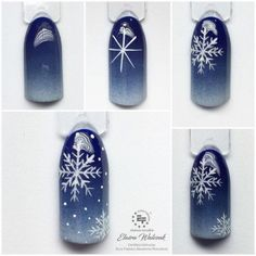 Christmas Nail Designs - My Cool Nail Designs Long Nail Designs, Winter Nail Designs, Winter Nail Art, Winter Nails, Xmas Nails, Holiday Nails, Christmas Nails, Christmas Tree, Trendy Nails