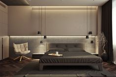 Modern Bedroom Design Inspiration - The Architects Diar.- Modern Bedroom Design Inspiration – The Architects Diary Modern Bedroom Design Inspiration – The Architects Diary - Modern Luxury Bedroom, Luxury Bedroom Design, Modern Master Bedroom, Modern Bedroom Furniture, Master Bedroom Design, Large Bedroom, Contemporary Bedroom, Luxurious Bedrooms, Home Bedroom