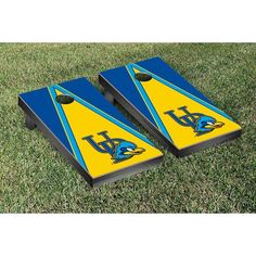 Victory Tailgate Delaware Blue Hens Cornhole Game -