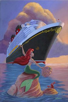 I really want to go on a Disney cruise!!! Especially since reading Kingdom Keepers V.
