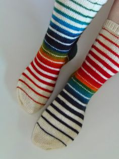 Wool Socks, Knitting Socks, Hand Knitting, Crochet Jumper, Knit Crochet, Boot Toppers, Marimekko, Sock Shoes, Knitting Projects