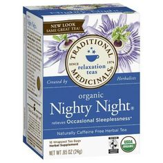 I'm learning all about Traditional Medicinals Nighty Night Tea at @Influenster!