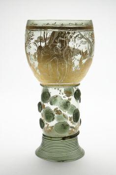 Glasbägare, 1600-tal.