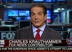 Krauthammer: ObamaCare Architect Remarks 'True Voice of Liberal Arrogance'.....(progressives always know what is best for their peons)