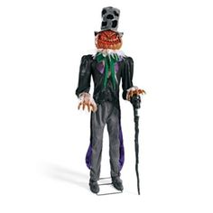 halloween - Jack the Giant Pumpkin Man Animated Figure 83 inches tall