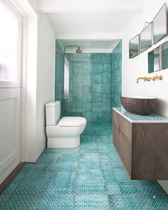 17 Bathroom Tile Ideas That Are Anything But Boring - http://freshome.com/17-bathroom-tile-ideas-that-are-anything-but-boring/
