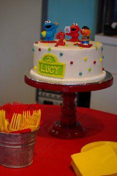 Sesame Street Birthday Cake. Thank you Abbie's Bakery in Summerville, SC.