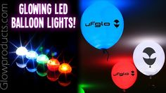 ufGLO LED Balloon Lights! http://glowproducts.com/products/LABL #glowparty #glowballoons #glow