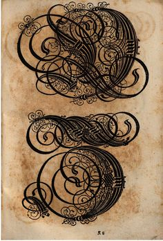 Paulus Franck - 'Schatzkammer Allerhand Versalien Lateinisch vnnd Teutsch', 1601 alphabet h by peacay, via Flickr