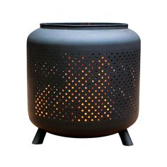 Northcote Pottery 520 x 520 x 600mm Glow Acheron Clay Fire Pit Bunnings $149