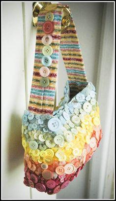 Button purse! Love it!