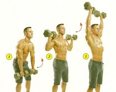 Get Monster Shoulders - Mens Fitness...for my hubby!