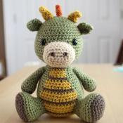Amigurumi Pattern - Spike the Dragon - via @Craftsy