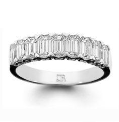 Esmeralda Best Engagement Rings, Wedding Engagement, Wedding Bands, Emerald Cut Diamonds, Diamond Cuts, Or Rose, Rose Gold, Eternity Ring, Band Rings