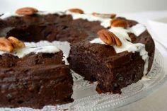 Slanke en gezonde chocolade cake met courgette   Foodness - good food, top products, great health   Bloglovin'