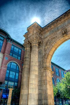 Union Station Arch, Columbus, Ohio