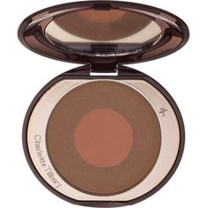Charlotte Tilbury Cheek to Chic blusher found on Polyvore featuring beauty products, makeup, cheek makeup, blush and creamy blush