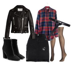 """""""Untitled #31"""" by le-crow on Polyvore featuring Avenue, Madewell, River Island, Acne Studios and Frame"""