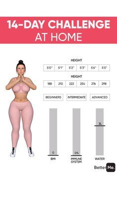 Gym Workout Tips, Fitness Workout For Women, Workout Challenge, Fitness Tips, Body Fitness, Lose Weight At Home, Weight Loss Help, Weight Loss Challenge, Easy At Home Workouts