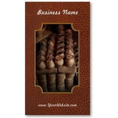 Archaeologist - Pottery - Today's dig was amazing Business Card Templates by suburbanscenes