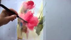 watercolor demonstration - YouTube