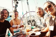 The time in Lanzarote with our dear friends was so nice and we are very much looking forward to welcome them soon on board  again at Gran Canaria. ⛵️ It is so great how many nice people we already meet on our trip. ❤️ . Check out our sailing blog (link in bio). 🙏🏻 . #friendship #backpacker #vitaminsea #marinalife #boardlife #travelfriends #sailing #sailinglife #sailinglavagabonde #breakfastinthesun #cockpitview #segelnmachtglücklich #hafenliebe #weltumsegelung #blauwassersegeln… Nice People, We The People, Lagertha, Backpacker, Sailing, Friendship, Meet, Instagram, Link