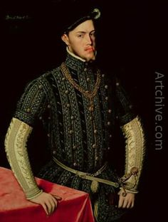 King Philip II of Spain 1549-55 - Anthonis Mor Van Dashorst